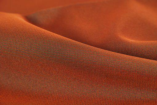 Orange, Red, Colors, Fabric, Abstract, Textile, Design