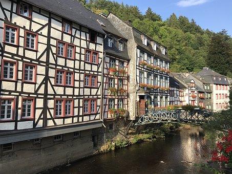 Monschau, Eifel, Deutschland, Germany, Timber Frame