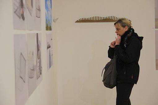 Woman, Art, Gallery, Girl, Fashion, Female, Face, Lady