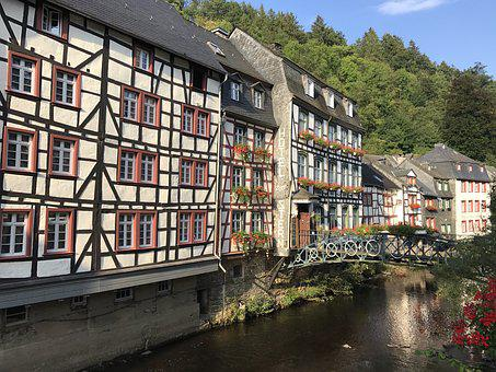 Monschau, Eifel, Deutschland, Germany, Timber Frame