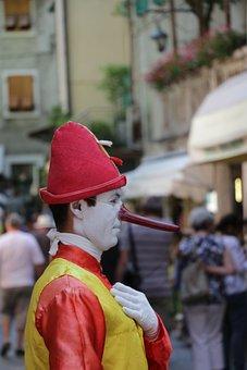 Clown, Italy, Garda, Limone
