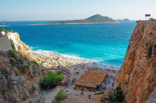 Antalya, Browse, Kaputas Beach, Beach, Kaputas, Marine