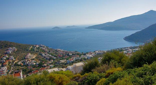 Antalya, Browse, Shield, Landscape, Marine, Tourism