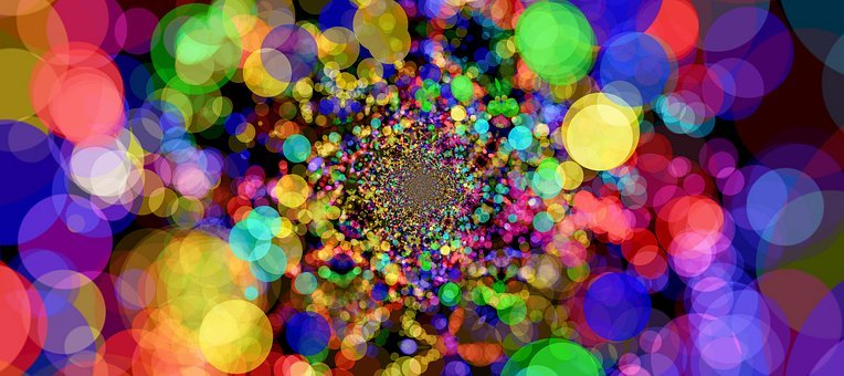 Bokeh, Abstract, Points, Circle, Background, About