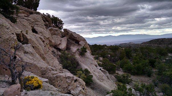 Mesa, New Mexico, Southwest, Rocks, Mountains, Mesas