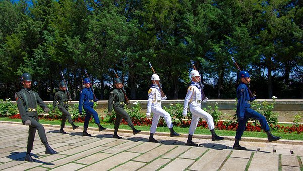 Ankara, Mausoleum, Soldiers, Seizure, Atatürk, Mars