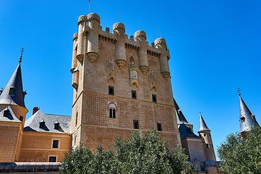 Spain, Segovia, World Heritage, Places Of Interest