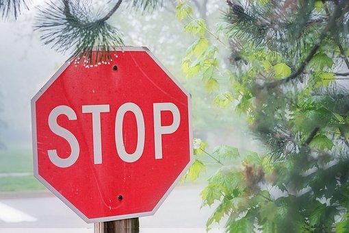 Stop, Sign, Symbol