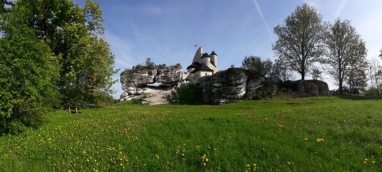 Castle, Bobolice, The Museum, History, Tourism