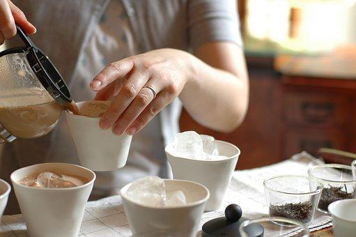 Women, Tea, Cafe, Drink Tea, Japan, Tokyo, Chai
