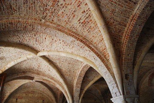 San Galgano, Tuscany, Italy, Abandoned, Abbey, Templar