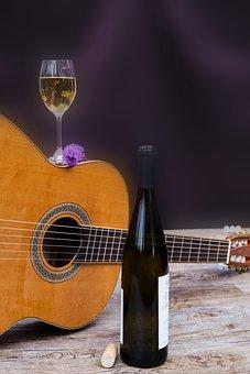 Wine, Drink, Alcohol, Wine Glass, Wine Bottle, Bottle
