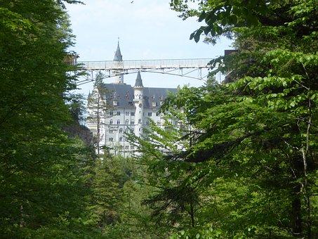 Ammer Mountains, Marie Bridge, Pöllat