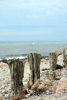 Beach, Baltic Sea, Grömitz, Sea, Nature, Coast, Blue