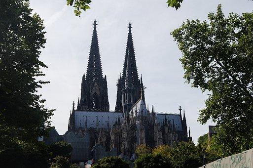 Cologne, Dom, Landmark, Church, Gothic, Religion