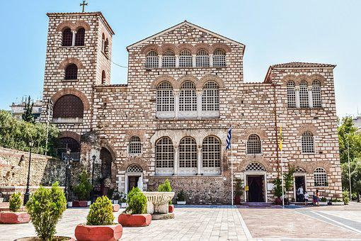 Greece, Thessaloniki, St Demetrius, Church, Cathedral