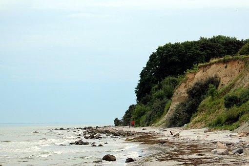 Grömitz, Cliff, Beach, Baltic Sea, Sea, Holiday