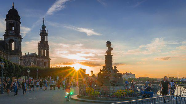 Dresden, Church, Old Town, Architecture, Historically