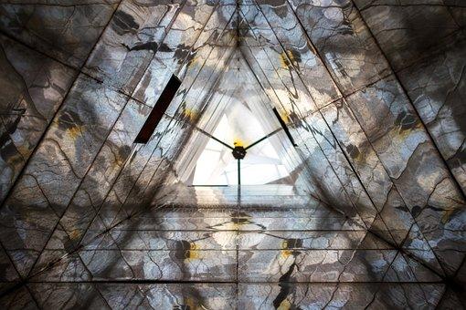 Abstract, Art, Mirrow, Lighthouse, Lighthouse Mirror