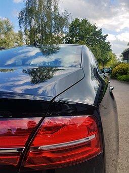 Luxury, Vehicle, Traffic, Transport, Limousine, Black