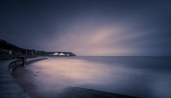Scarborough, Long Exposure, Yorkshire, Beach, Gloom