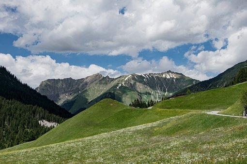 Heart, Alps, Landscape, Mountains, Austria