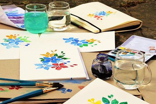 Back To School, School Start, Art Class, Joy, Colorful