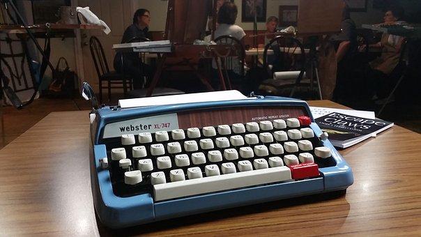 Writer, Typewriter, Vintage, Retro, Old, Paper, Type