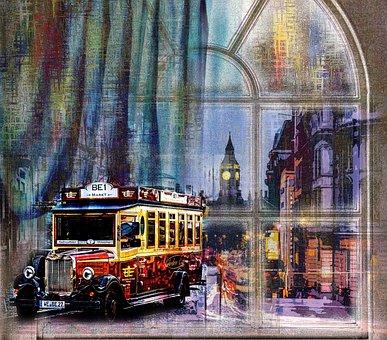 London, England, Vintage, Travel, United Kingdom, City