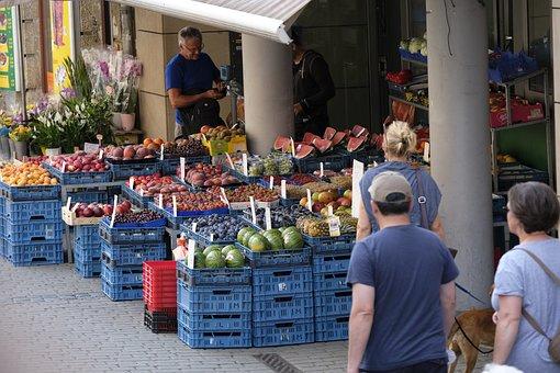 Vegetables, Vegetable Market, Market, Music, Business