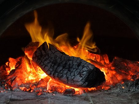 Pizza Oven, Wood Fire, Flame, Hot, Oven, Traditional