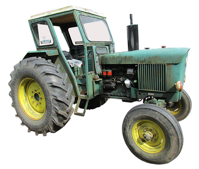 John Deere, Old Tractor, Agricultural Machinery