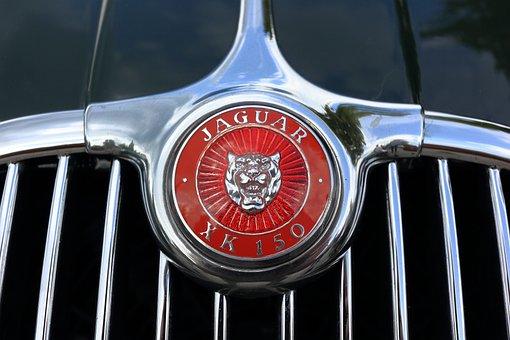 Jaguar, Car, Logo, Bonnet, Xk150, Xk 150, Ornament
