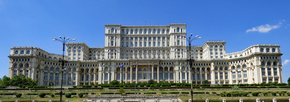 Bucharest, Romania, Building, Parliament, Palace