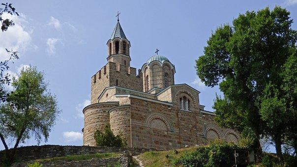 Tsarevets, Veliko Tarnovo, Bulgaria, Fortress, Castle