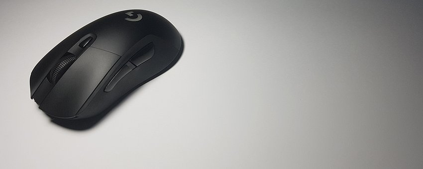 Video Games, Mouse, Device, Black On White, Games