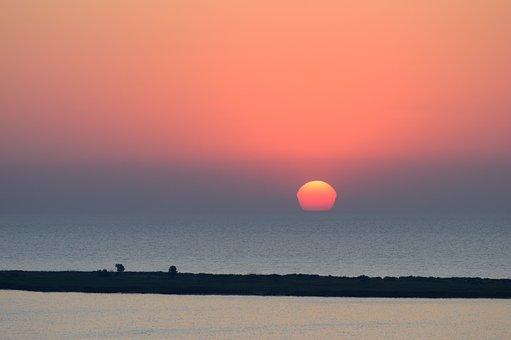 Sea, Sunrise, Sun, Morning, Dawn, Water, Early Morning