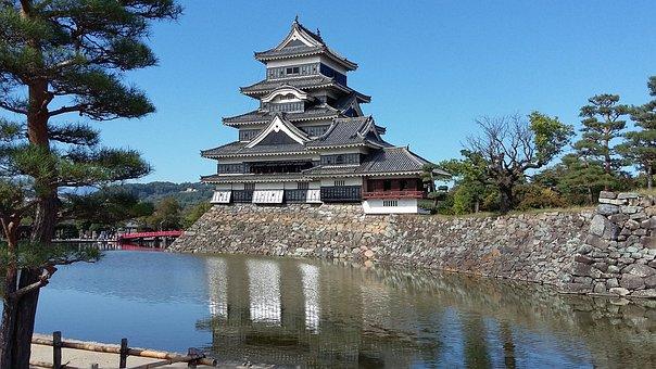 Matsumoto, Japan, Castle, Fortress, Crow's Castle