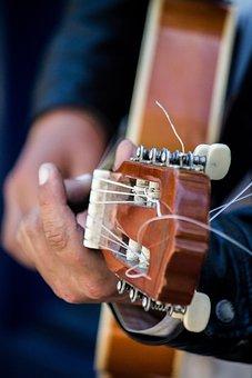Guitar, Music, Playing Guitar, Chord, Intrumentos