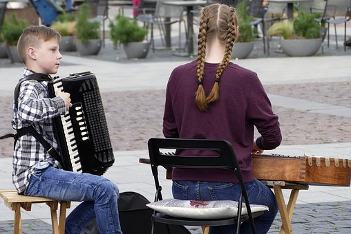 Street Music, Music, Young Musicians, Young People