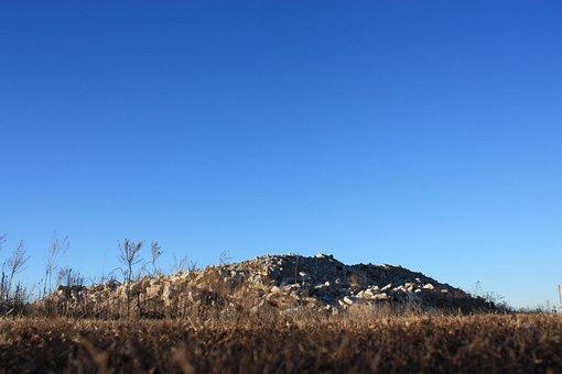 Rubble, Mound, Gravel, Construction, Outdoors