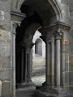 Portal, The Romanesque, Building, Basilica