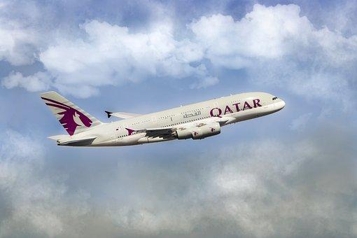 Qatar, Airline, Air, Airplane, Flight, Business, Fly