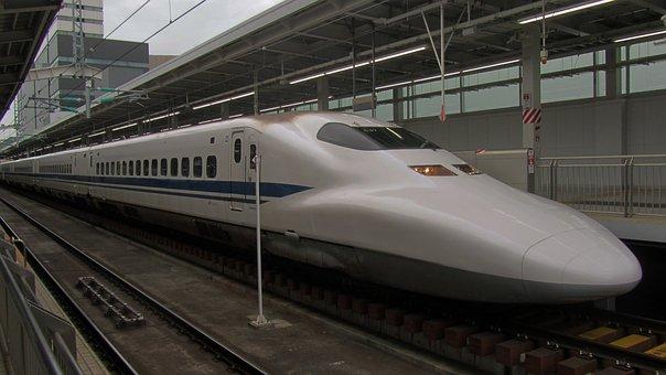 Shinkansen, Express Train, Japan, Railway Station
