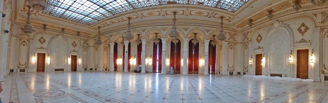 Bucharest, Romania, Architecture, Parliament, Palace