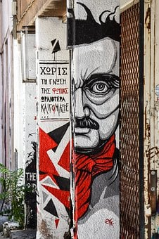 Modern Art, Grafiti, Urban, Graffiti, Wall, Texture