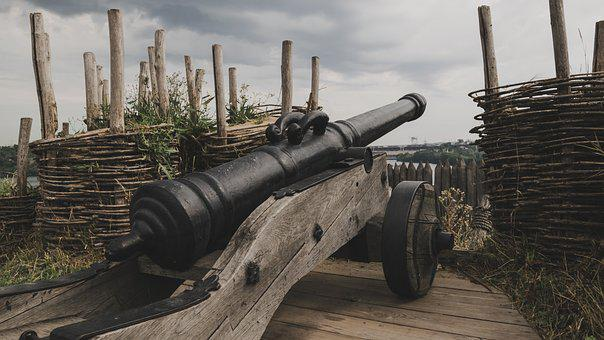 Cannon, Old, History, Weapons, Artillery, Weaponry