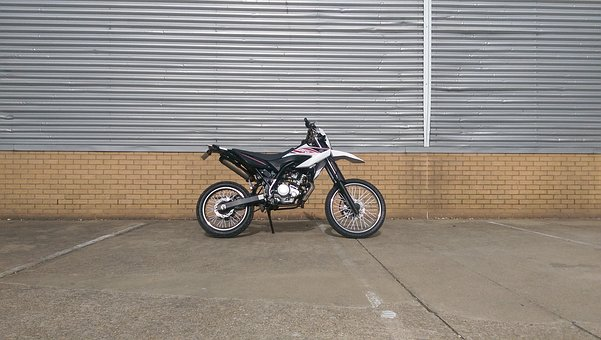 Bike, Yamaha, Wr, 125x