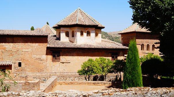 Spain, Andalusia, Granada, History, Architecture, Wall