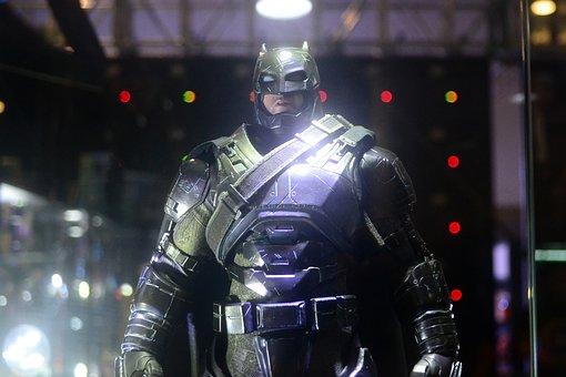 Batman, Superhero, Armor, Comics, Convention, Bat, Mask